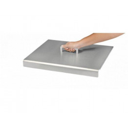 Capot inox pour plancha Design simple
