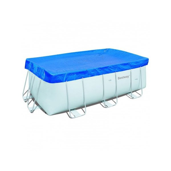 Bache hiver bestway piscine tubulaire home piscine for Piscine bestway tubulaire