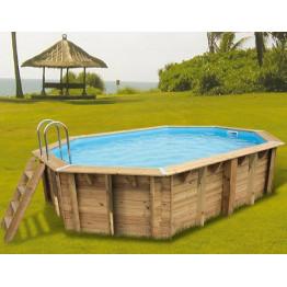 Piscine bois Sunwater 490 x 300 x 120 cm