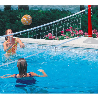 Volley ball piscine géant