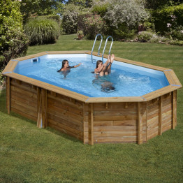Piscine Sunbay Cannelle 5,51 x 3,51 x 1,19 m