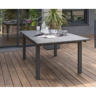 Table aluminium Miami Stone