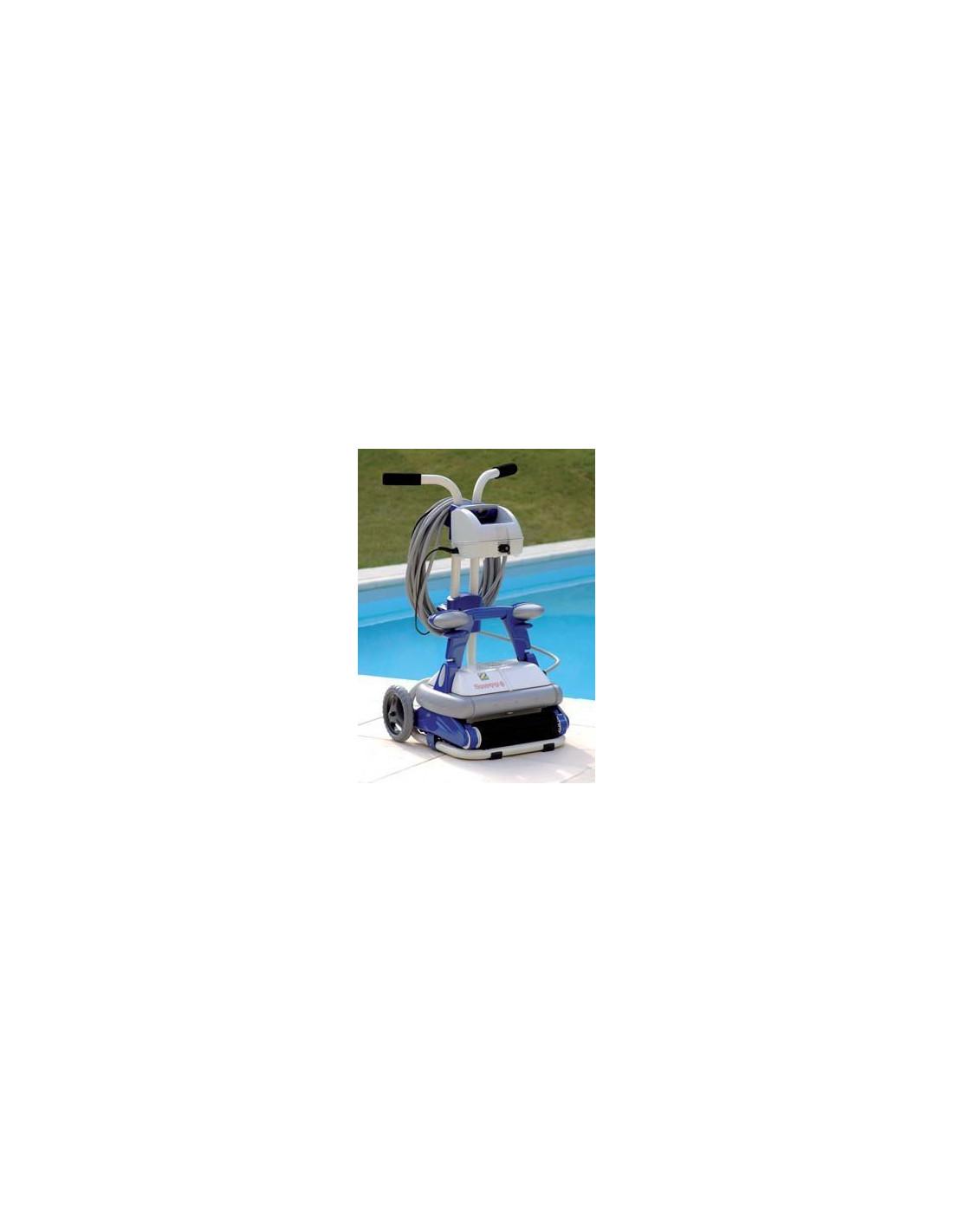 Robot lectrique sweepy free home piscine for Robot piscine electrique zodiac