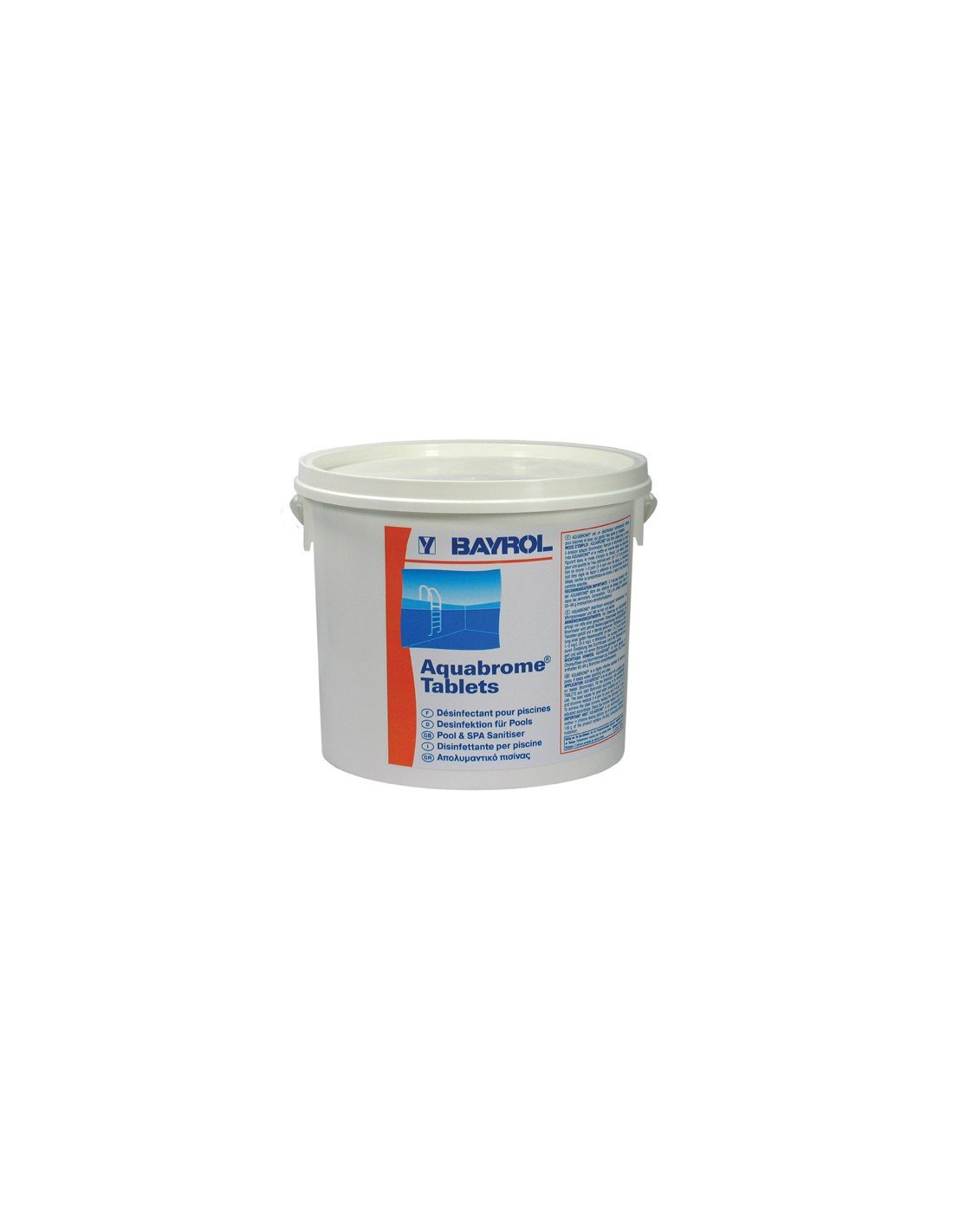 Brome aquabrome de bayrol 2 x 5 kg for Piscine brome