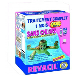Traitement complet sans chlore 18-30 m3