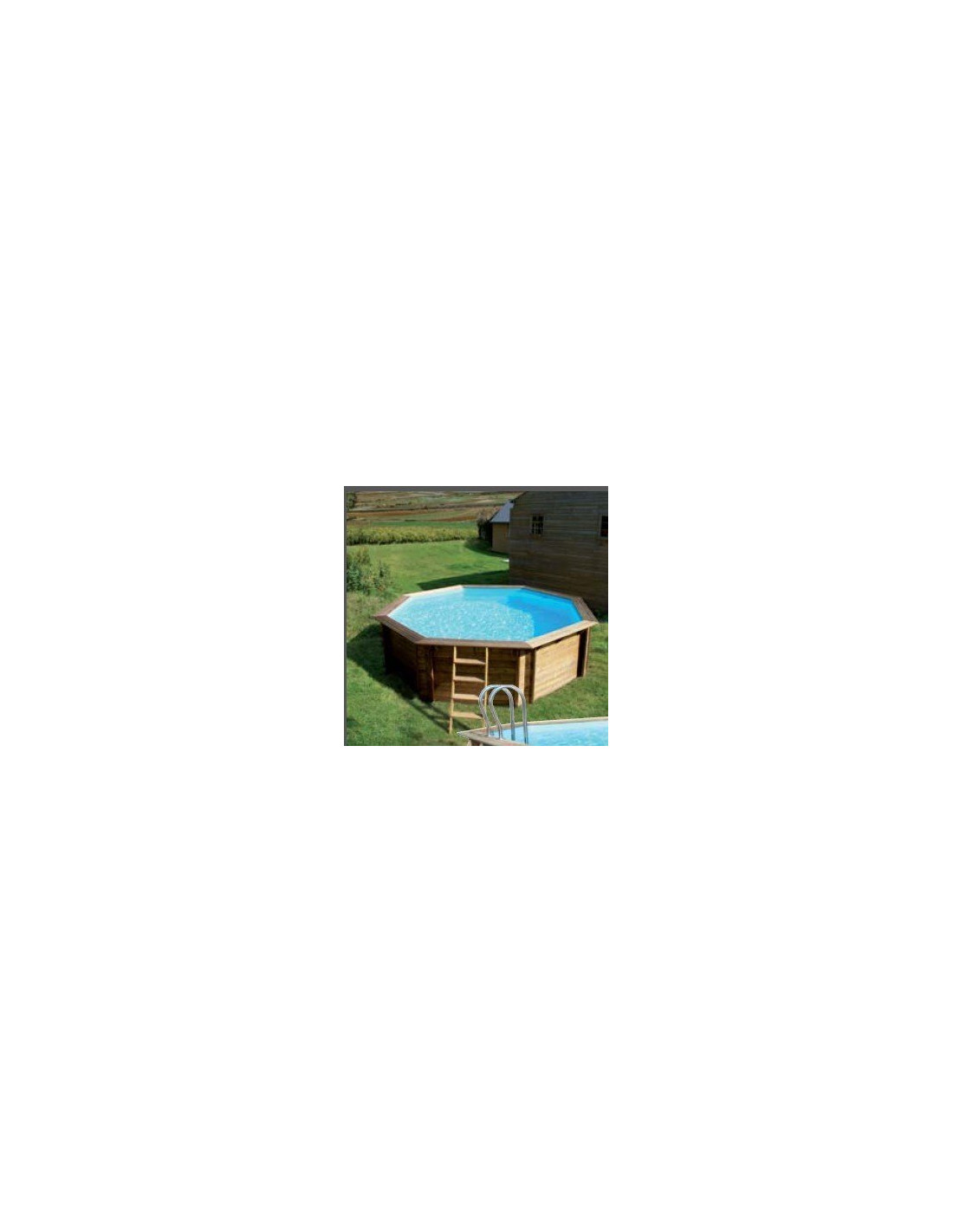 Piscine weva bois 4 37m x 1 20m home piscine for Installation piscine hors sol
