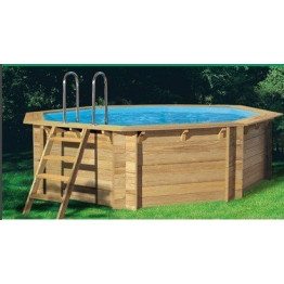 Piscine en bois tropic x m for Reduction piscine center
