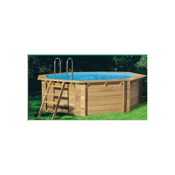 Piscine en bois tropic x m for Piscine tropic octo 414