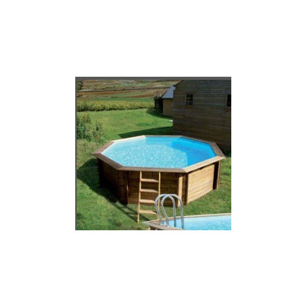 piscine weva bois 5 28m x 1 33m home piscine. Black Bedroom Furniture Sets. Home Design Ideas