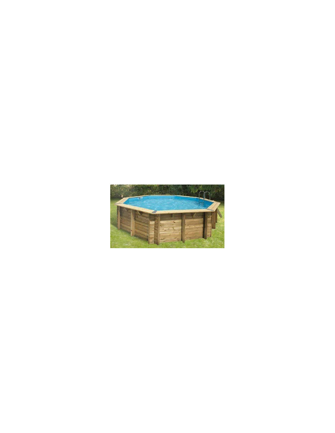 Piscine oc a 430 430 x h 120 cm ubbink for Commander liner piscine