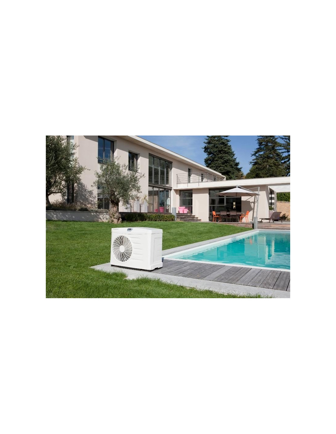 Pompe chaleur piscine zodiac power 7 kw for Pompe a chaleur piscine 40m3