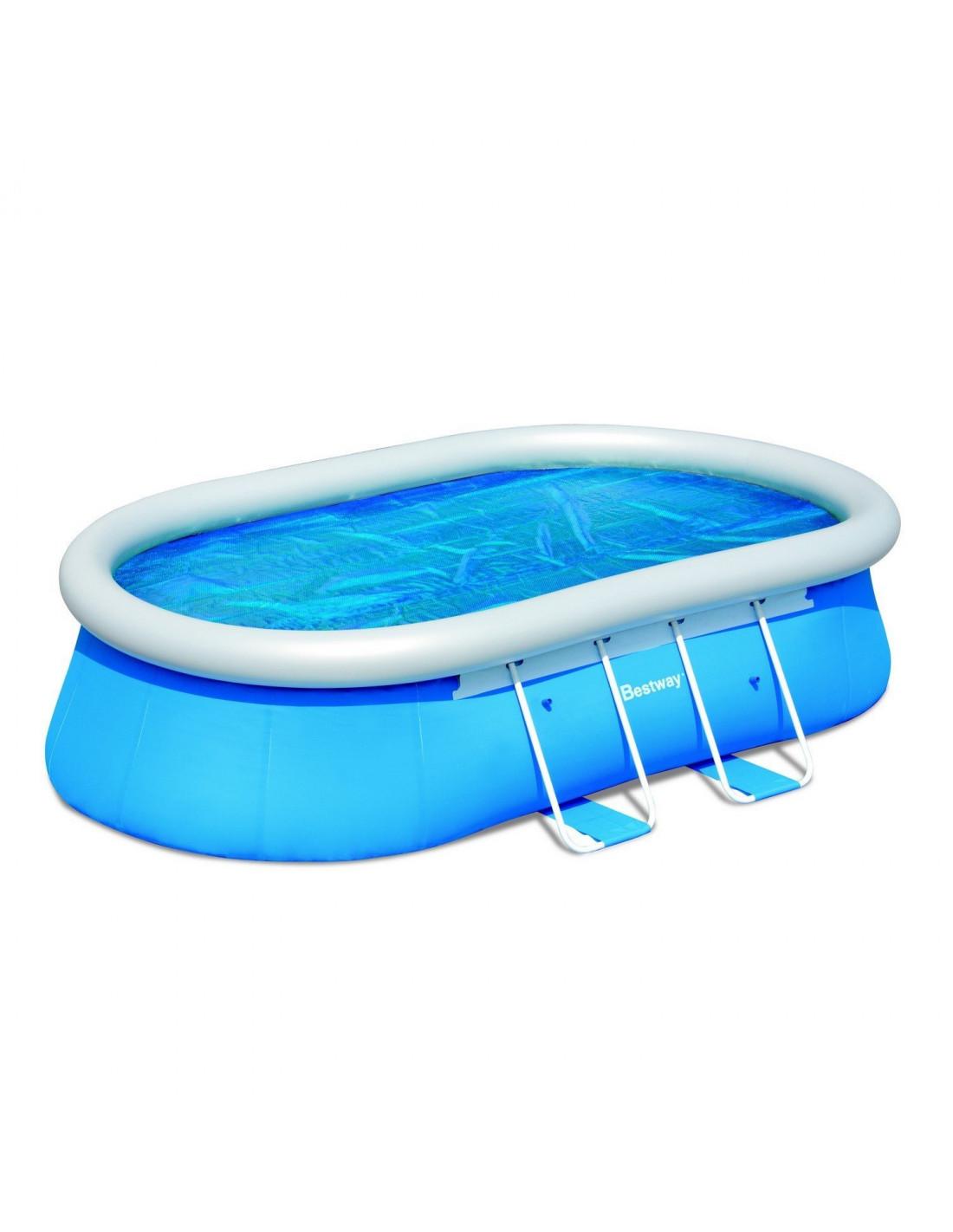 b che ovale t pour piscine autoportante de m. Black Bedroom Furniture Sets. Home Design Ideas