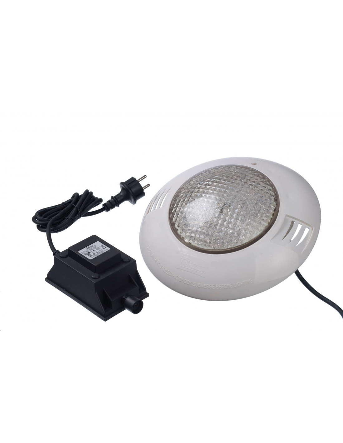 Projecteur piscine hors sol bois led ubbink for Spot led piscine hors sol