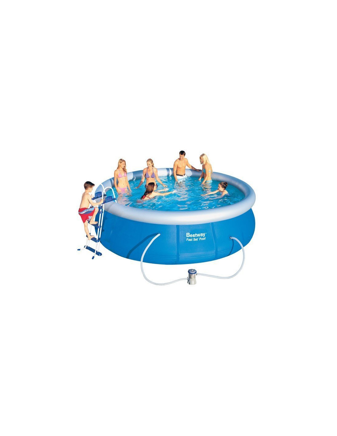 Piscine gonflable bestway for Cartouche filtre piscine