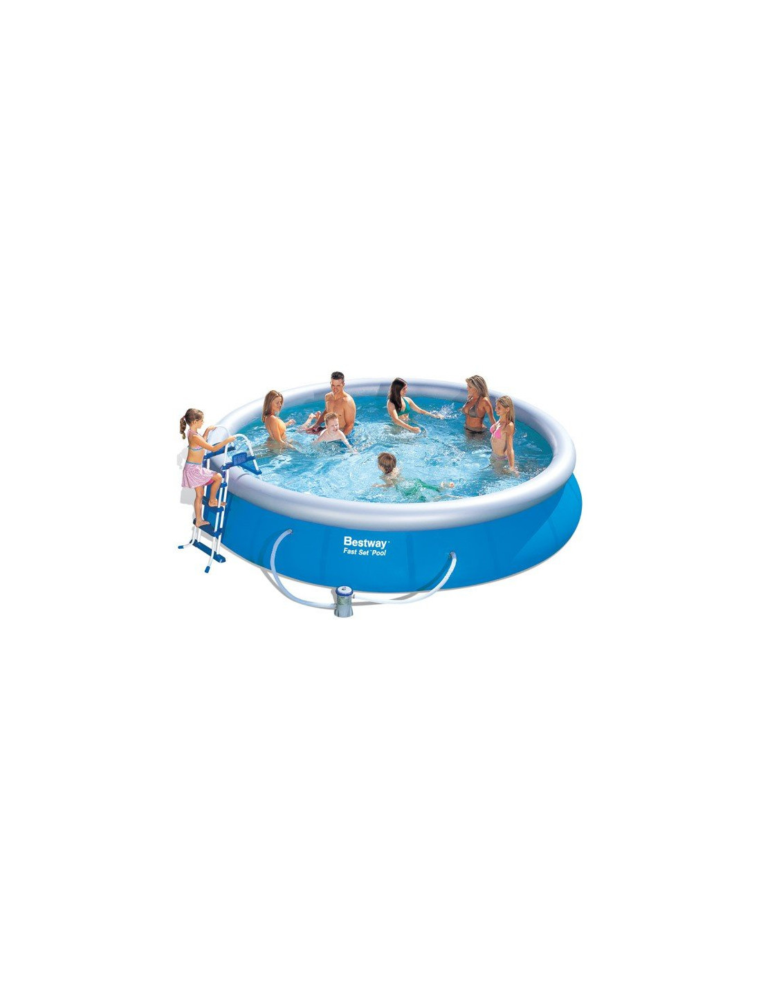 Piscine gonflable bestway for Piscine autoportante