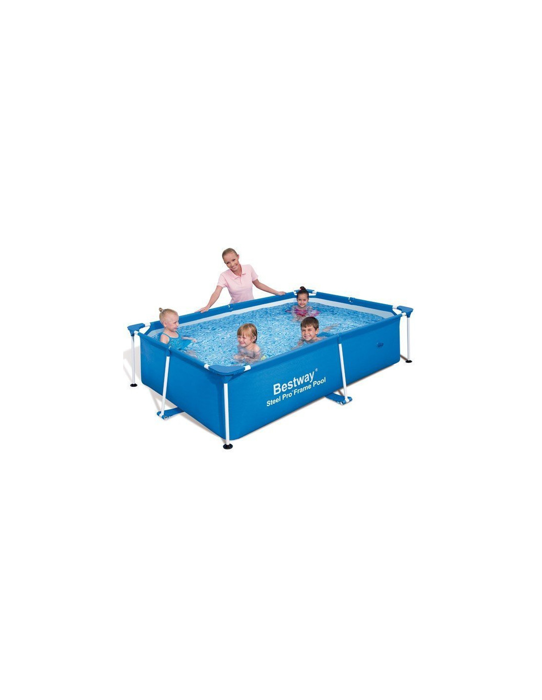 Piscine tubulaire bestway - Piscine gonflable rectangulaire ...