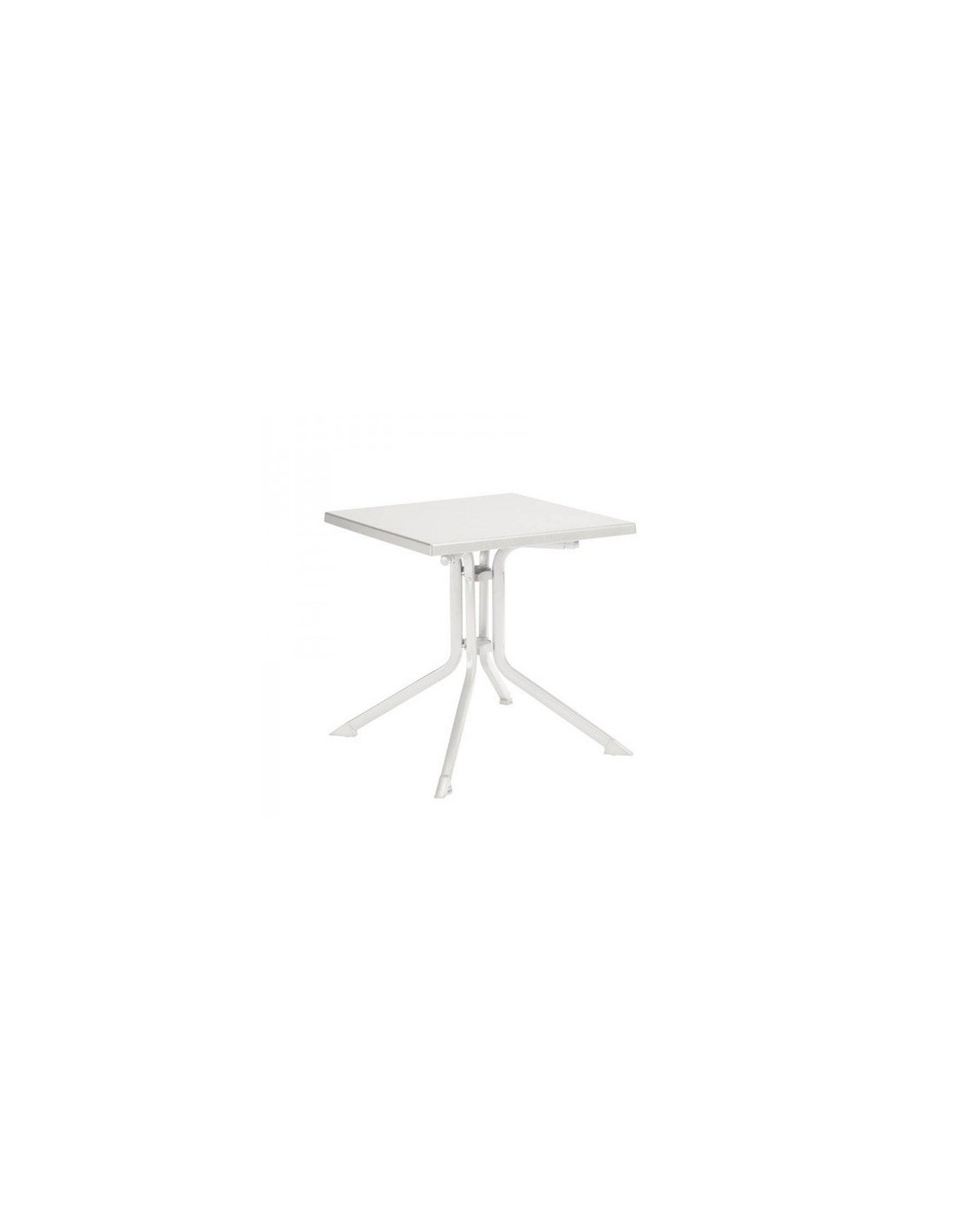 Stunning table de jardin carree blanche pictures awesome interior home satellite - Avantage salon de jardin aluminium ...