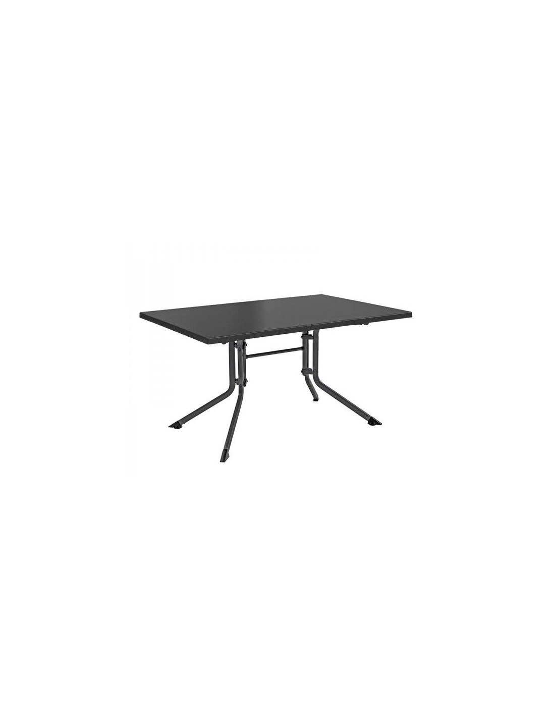 Table de jardin pliante carr e en aluminium mod le advantage for Table jardin pliante