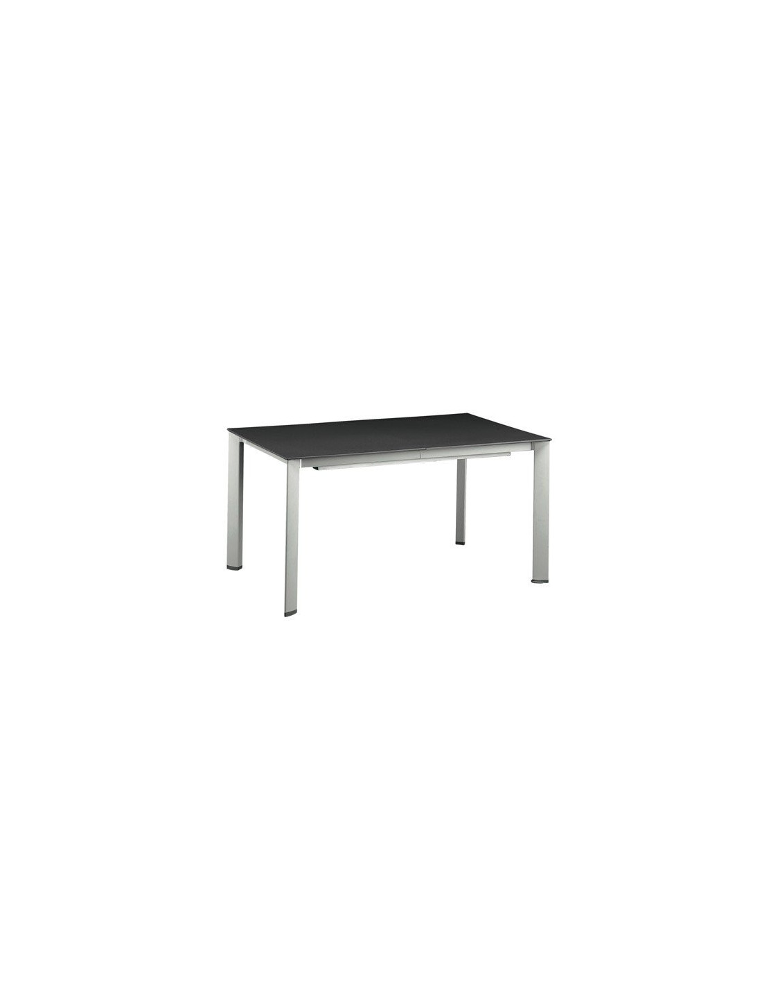 Table de jardin extensible en aluminium mod le loft kettler for Table exterieur kettler