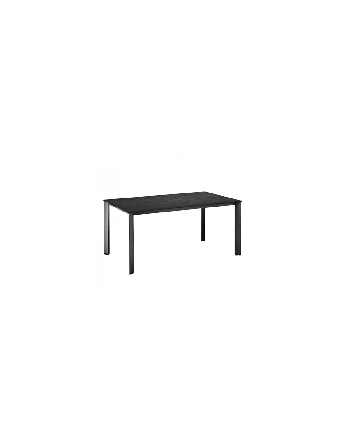 Table ardoise jardin for Table de jardin en ciment