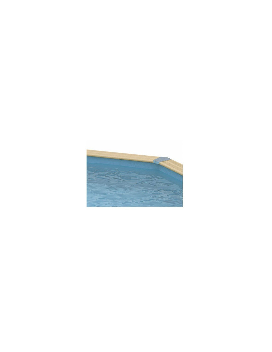 Liner piscine hors sol ovale ubbink ou nortland couleur for Liner piscine couleur sable