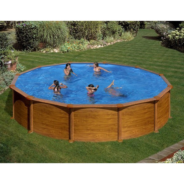 Piscine guide d 39 achat for Piscine hors sol aspect bois
