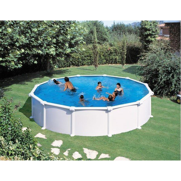 kit piscine hors sol atlantis ronde en acier ebay. Black Bedroom Furniture Sets. Home Design Ideas