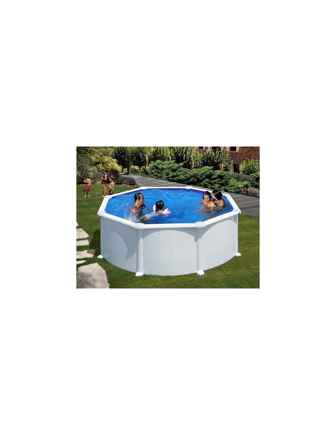 piscine acier ronde mod le atlantis. Black Bedroom Furniture Sets. Home Design Ideas