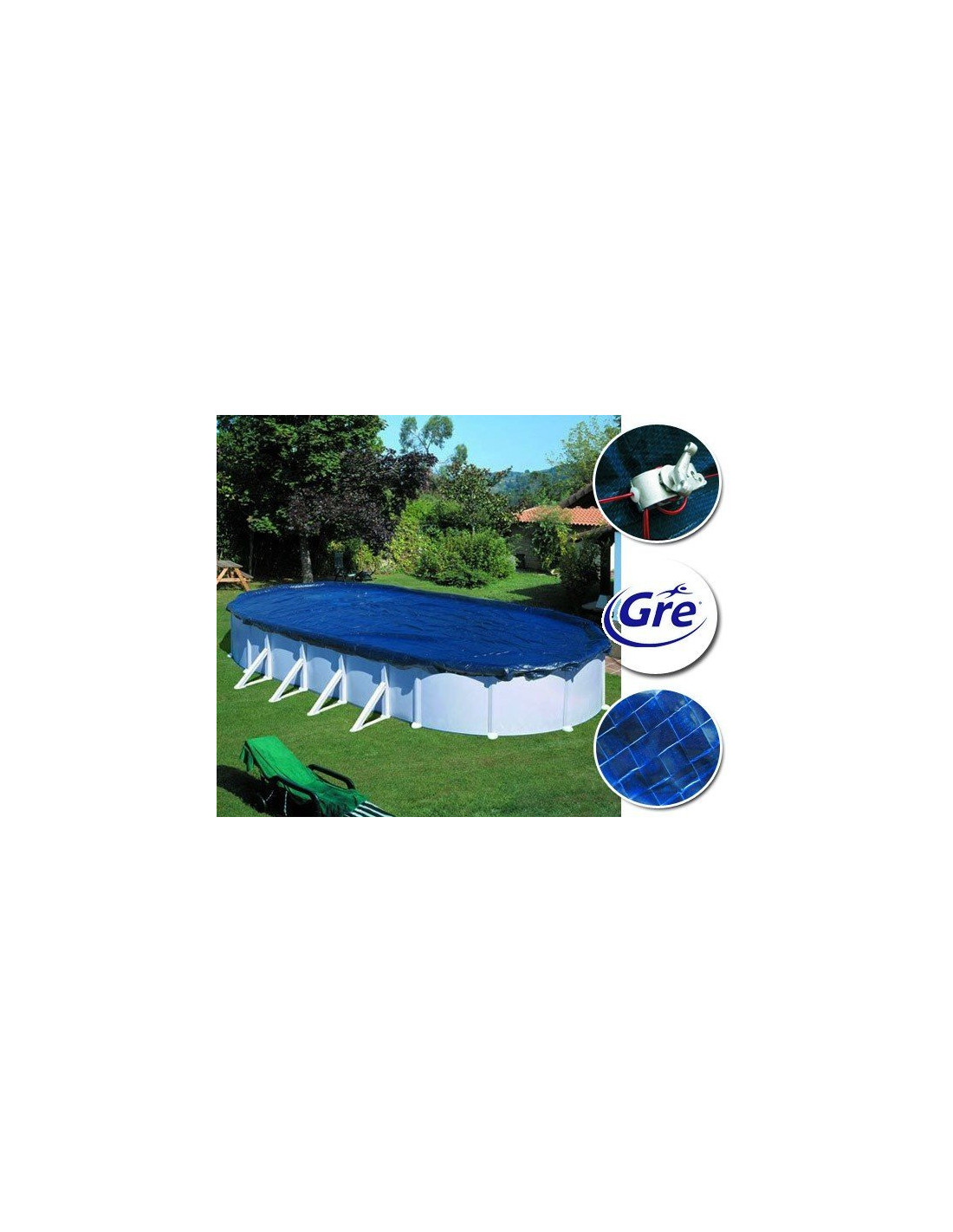 B che d 39 hivernage piscine hors sol ovale de gre pool for Home piscine