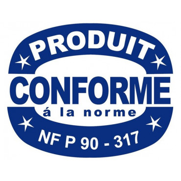 Label produit conforme