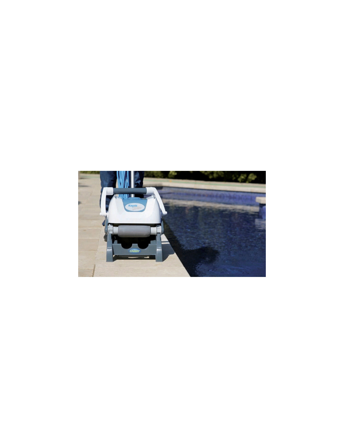 Robot de piscine lectrique mod le kayak adventure gre pool for Robot piscine electrique
