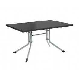 Table pliante de jardin ADVANTAGE rectangulaire argent gris