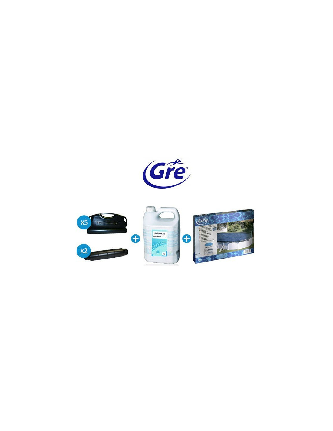Pack hivernage gre pool pour piscine hors sol ronde for Robot pour piscine ronde