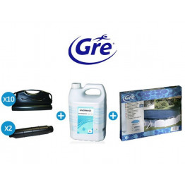Pack hivernage pour piscine Gre Pool ovale
