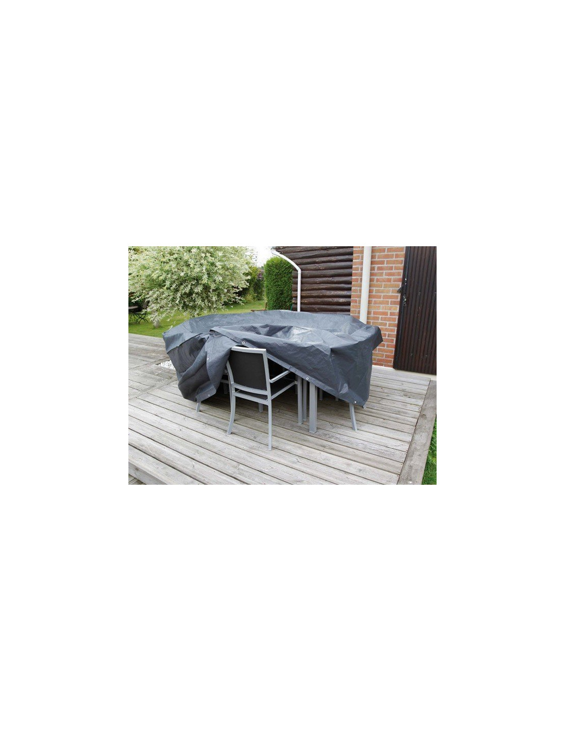 Emejing housse protection table de jardin ronde images amazing