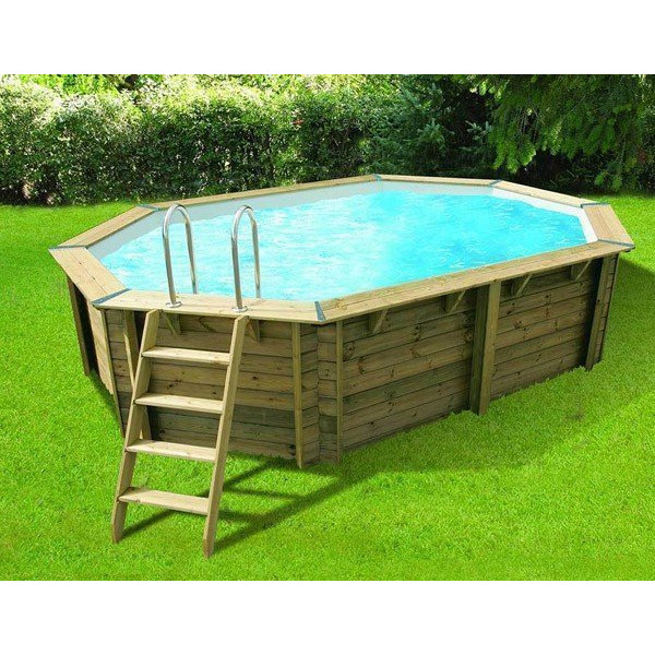 Piscine ubbink oc a 550 x 355 x 120 for Piscine demontable bois